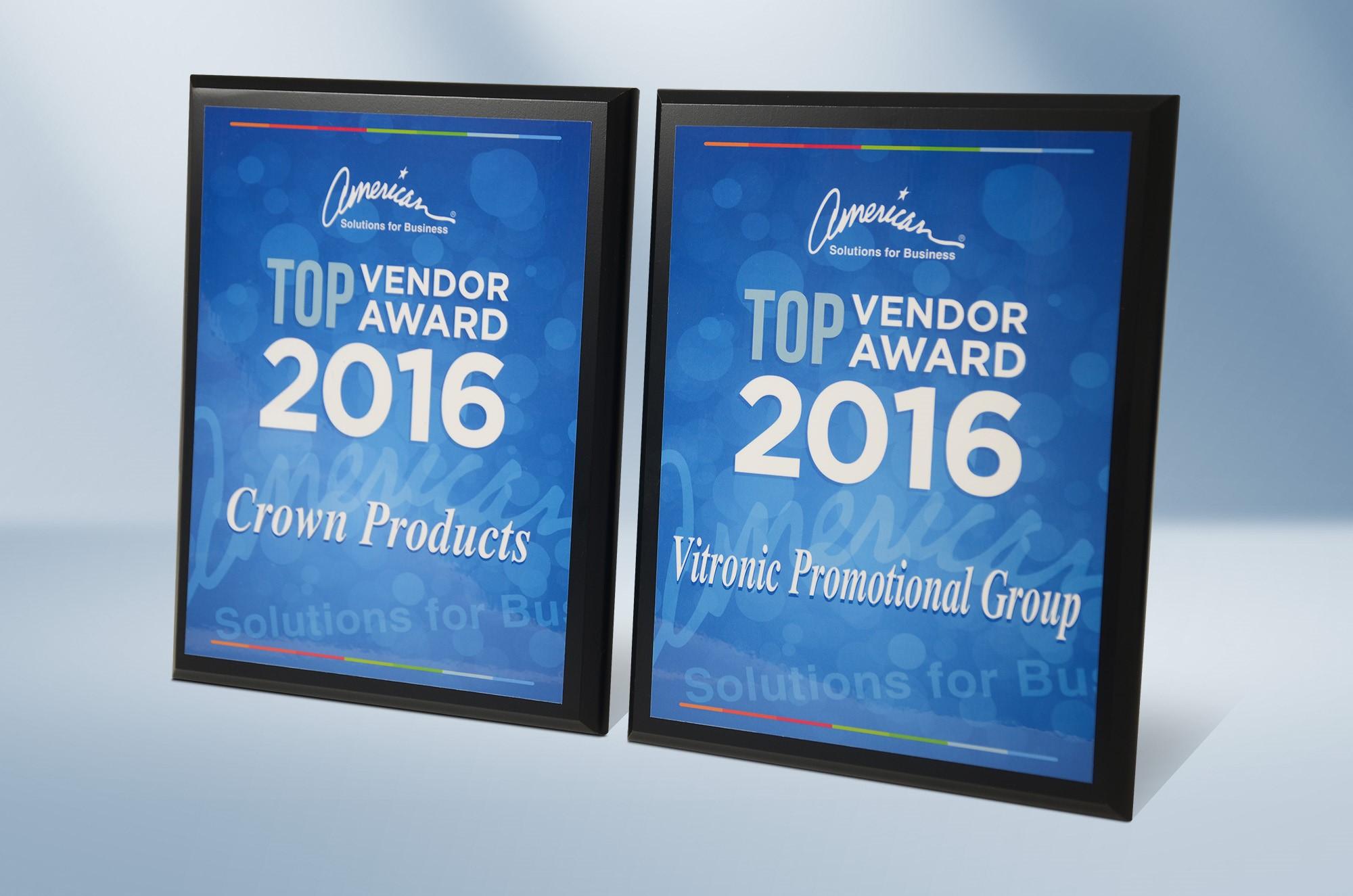 Top Vendor Awards