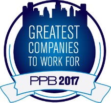 PPB Greatest Companies To Work For 2017