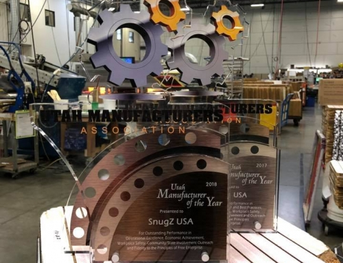SnugZ USA Named 2018 Manufacturer of the Year by Utah Manufacturers Association