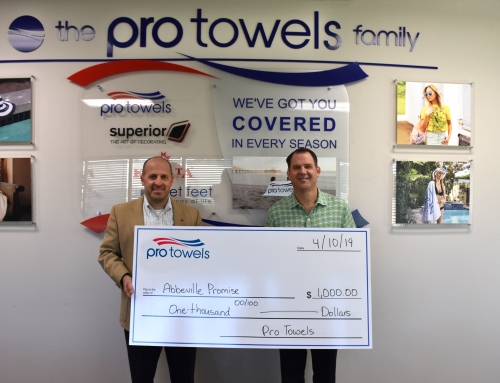 Pro Towels Donates to the Abbeville Promise Program