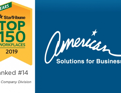 American Solutions for Business Ranked #14 on Top 150 Workplaces List