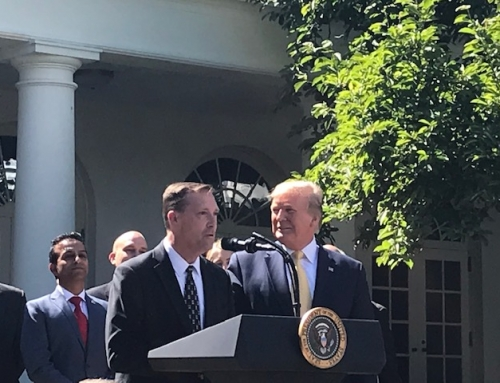 ASB Sales Associate Speaks at White House