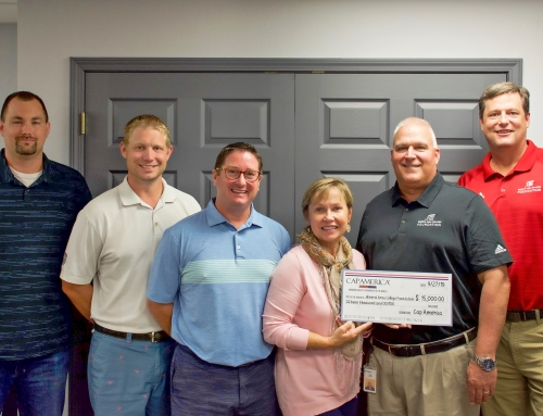 Cap America Donates to MAC Foundation